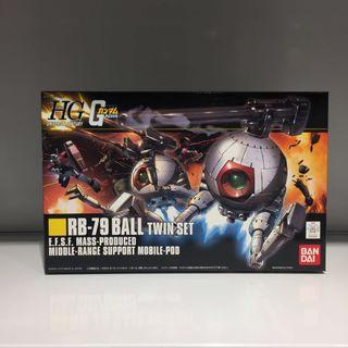 Bandai HGUC RB-79 Ball Twin Set