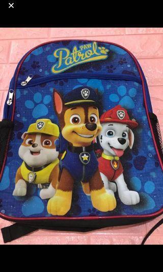 Instock now!! Paw patrol kids bag ht 39cm brand new