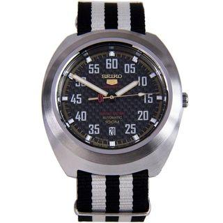 *MADE IN JAPAN* Seiko SRPA93J1 BLACK HOLOGRAM Limited Edition Automatic Nylon Watch SRPA93 SRPA