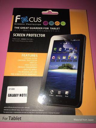 Galaxy Note Screen Protector