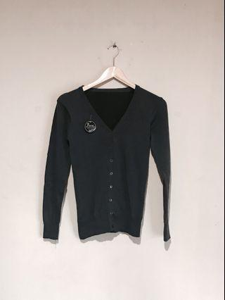 BNWT - Pinisi Lovely Dark Grey Slim Fit Cardigan (Outer) #mauvivo