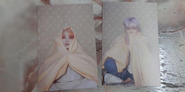 Bts official persona postcard map of the soul jimim rapmonster