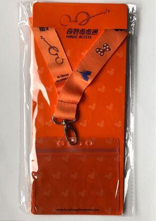 DisneyLand neck strap 迪士尼頸繩
