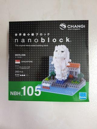 🚚 Nanoblock NBH_105 Merlion