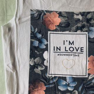 """i'm in love"" sleeveless tee"
