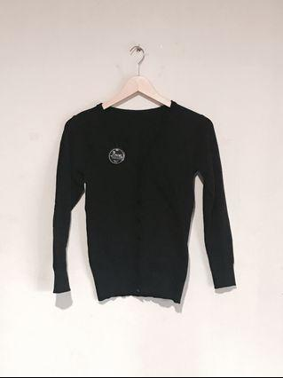 BNWT - Pinisi Classic Slim Fit Black Cardigan (Outer) #mauvivo