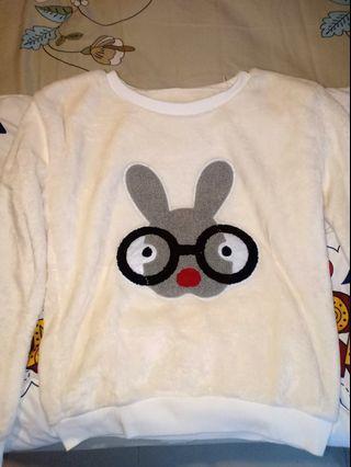 Baju anak sweatshirt bulu halus