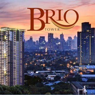 1BR at Brio Tower Facing amenities in Makati near Rockwell, Ayala Malls and MRT Guadalupe station