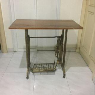 Vintage Singer sewing machine legs table
