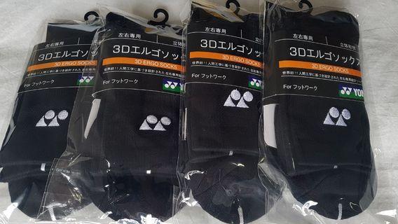 YONEX TRU-3D Black Sock 25-28cm