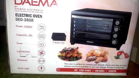 Like New Oven 38L