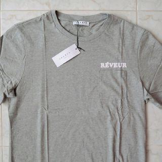 SANDRO Paris Reveur 'Dreamer' Flocked T-Shirt