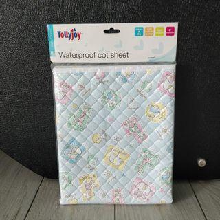 BNIB Tollyjoy waterproof cot sheet diaper changing pad 60x90cm