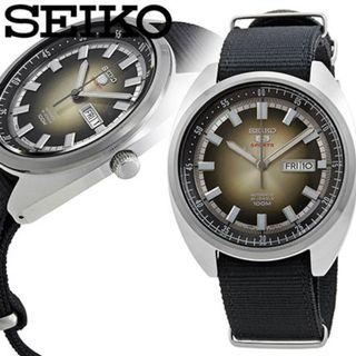 *MADE IN JAPAN* Seiko 5 Sports SRPB23J1 Vintage Turtle Automatic Stainless Steel Analog Watch SRPB23 SRPB