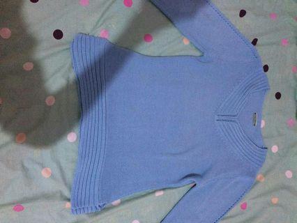 Sweater rajut blue