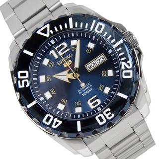 *MADE IN JAPAN* Seiko 5 OCEAN BLUE SRPB37J1 Automatic Watch SRPB37 SRPB