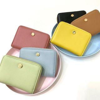 🚚 Authentic Taiwan S'aime Classic Leather Card Holder