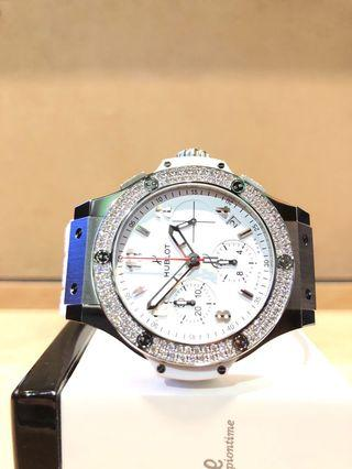 Brand New Hublot Big Bang 342.SE.230.RX.114 White Dial Automatic Steel Casing Rubber