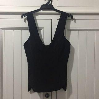 Sheike Black Size 10 Top