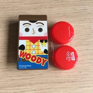 Toy Story Woody 隱形眼鏡盒 contact lenses case