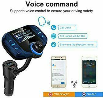 Car Bluetooth FM transmitter MP3 and more