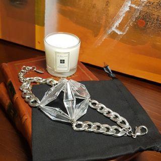 🚚 Designer Statement Acrylic Bracelet