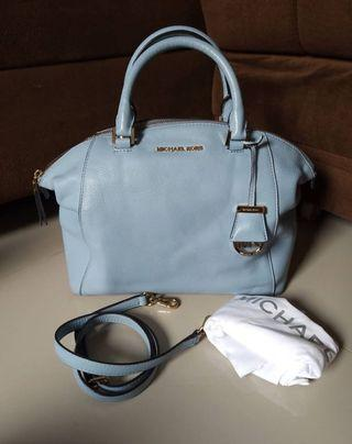 michael kors riley baby blue
