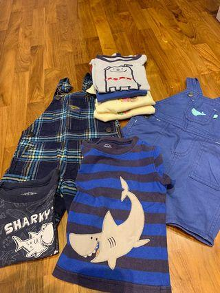 🚚 Carter's , Oshkosh 9-12 months Jumpers, Tees,