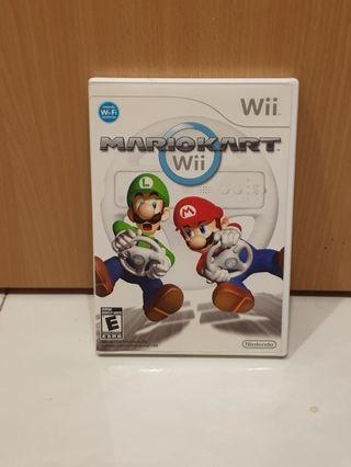 Wii U Mario Kart used in working condition