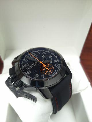 Graham Chronofighter Oversize Black Forest 47mm Automatic