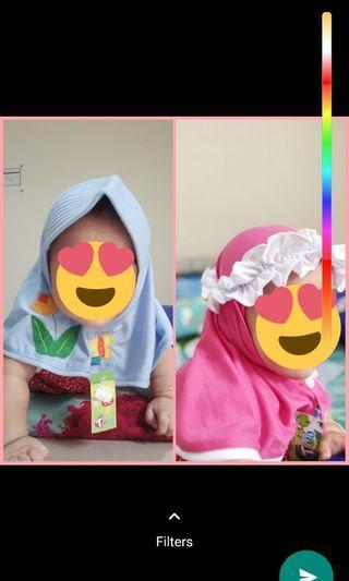 Jilbab bayi tiva