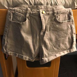 灰色型格短褲