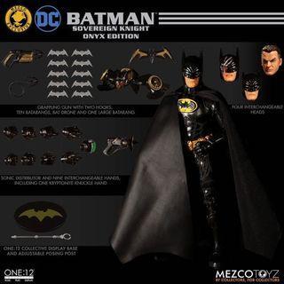 Mezco Onyx Batman 1989 returns 蝙蝠俠 限定版 not shf mafex bvs justice league jl