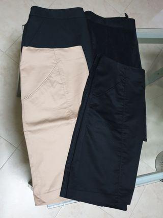 4 pcs of OL Skirts