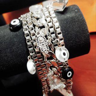 🚚 Boheme Chic Designer Charm Bracelet