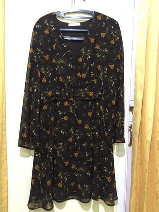 #BAPAU MANGO FLOWER DRESS