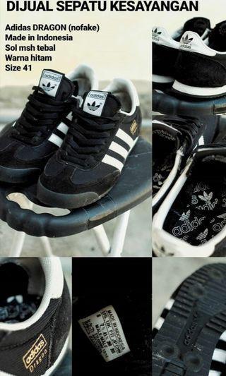 #BAPAU sepatu adidas dragon