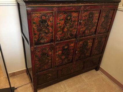Tibetan Cabinet (Antique)