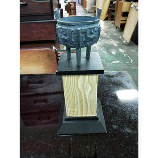 非凡二手家具 鼎 擺設品*木雕*雕刻品*裝飾品*