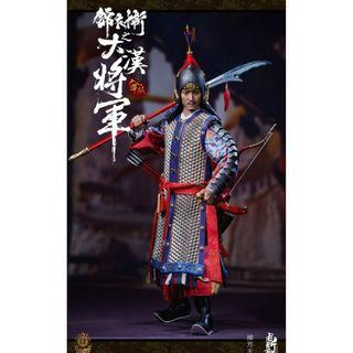 PRE-ORDER : Dingsheng Toys DS004-B - Ming Dynasty Imperial Guard B (Silver Armor Ver.)