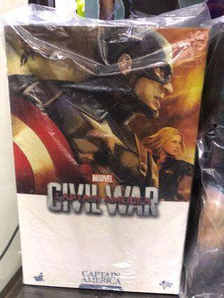 hot toy captain america civil war 1/6