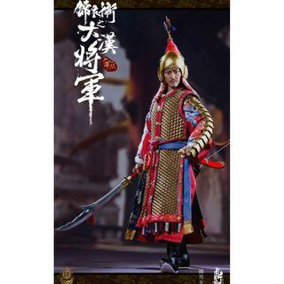 PRE-ORDER : Dingsheng Toys DS004-A - Ming Dynasty Imperial Guard A (Golden Armor Ver.)