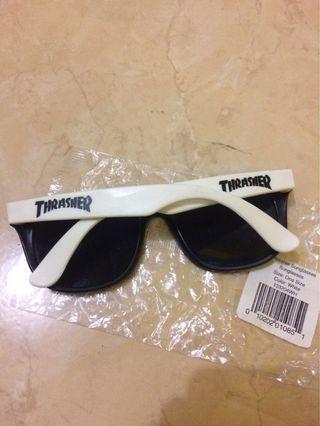 Thrasher White Sunglasses Original
