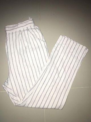 Striped pants / celana panjang liris liris