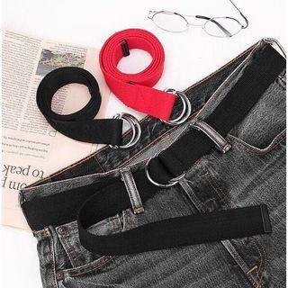 皮帶 兩條 不同款 黑色