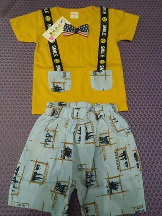 NEW! Setelan Baju Anak 0-1 Tahun