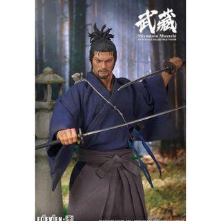PRE-ORDER : Eleven X Kai Studio 1/6th Scale Collectible Figure - Miyamoto Musashi
