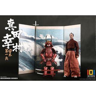 PRE-ORDER : 101 Toys Beginner Series No.KN002 - The No.1 Japanese Soldier: Sanada Yukimura (Exclusive Version)