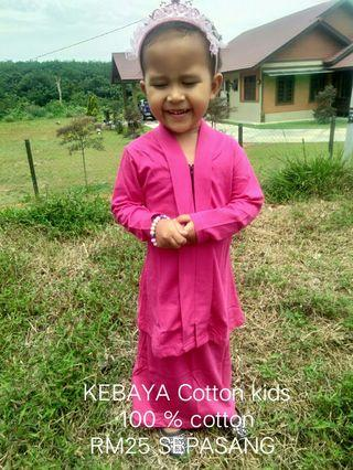 KEBAYA COTTON KIDS