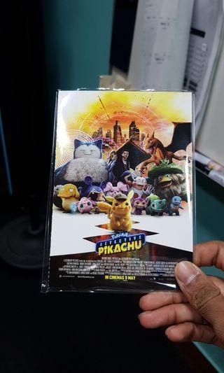 Pokemon Detective Pikachu The Movie Postcards